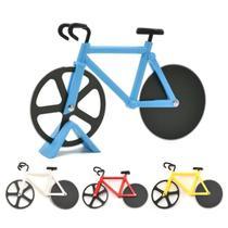 Cortador Fatiador De Pizza Bicicleta Bike Tortas Massas - Onyx