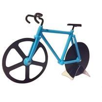 Cortador Fatiador de Pizza Em Formato de Bicicleta - Livon