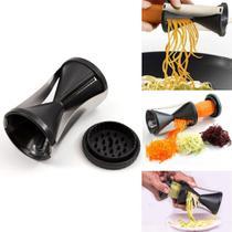 Cortador fatiador espiral de legumes e vegetais mimo style -