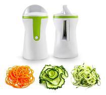 Cortador fatiador legumes espiral mimo -