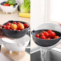 Cortador Fatiador Legumes Salada Frutas Cozinha Alimentos Ralador Escorredor Multifuncional 7 em 1 -