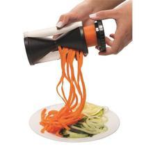 Cortador Fatiador Manual Espiral Ideal Para Preparo De Saladas e Espaguete De Legumes - Casíta