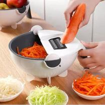 Cortador Fatiador Ralador Escorredor de Legumes Vegetais Salada fruta Multifuncional 9 em 1 -