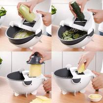 Cortador Fatiador Ralador Escorredor Legumes Verduras Frutas - Penselarfun