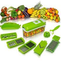 Cortador Fatiador Ralador Picador Legumes Multiuso 11 em 1 - Penselarfun