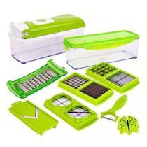 Cortador Fatiador Ralador Processador Picador Legumes Verduras Frutas Queijos Tempero Multiprocessador Nicer Dicer -