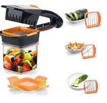Cortador Kook 5 em 1 Multi Fatiador de Legumes Frutas e Verduras Plus -