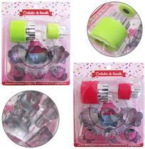 Cortador Molde Biscoito De Inox C/ Pegador Plástico Kit 10pc - Fu Xing