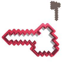 Cortador Pasta Doce Impresso Jogo Infantil Game Minecraft Machado Minerador -