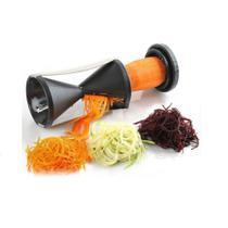 Cortador Ralador Espiralizador Legumes Fatiador Espiral UD170720 PRETO - Bcs