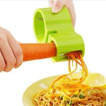 Cortador Ralador Fatiador Legumes Vegetais Espiral Espaguete Macarrão Amolador Afiador Facas Tesouras -