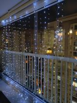 cortina 300cmx300cm 300leds 5v prova da chuva USB - XT