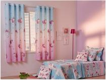 Cortina Infantil Santista Londres Magic - 1,80x2,80m
