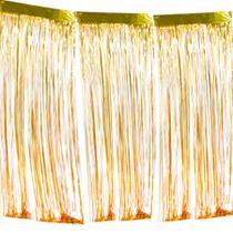 Cortina Metalizada para Decoração Multicolor - Festabox