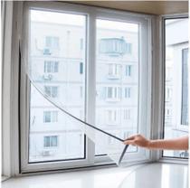 Cortina Mosquiteiro Magnética Tela Mosquito Protetora Insetos Mosquito Porta Janela 130cm x 150cm -