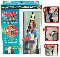 Cortina Mosquiteiro Tela Protetora Para Insetos Mosquito Magic Mesh PORTA -