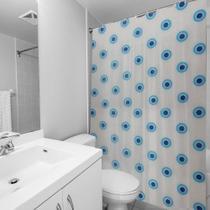 Cortina para Box Banheiro Estampada Yazi -