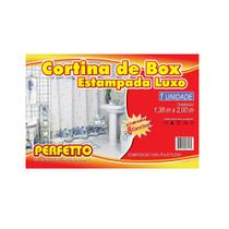 Cortina para box luxo estampa sortida - Perfetto