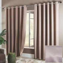 Cortina Sala 3,00 x 2,50 Blackout Classique Chocolate - Sultan