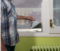 Cortina Tela Mosquiteiro Magnética Porta Janela Protetora Contra Insetos Mosquitos 130cm x 150cm -