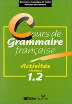 Cours de grammaire française activities niveau 1&2 - Hatier -