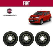 Coxim Borracha Filtro Ar Novo Uno 2015 Genuína Kit com 3 - Fiat