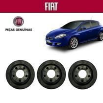 Coxim Caixa Filtro Ar Bravo 2015 Peça Genuína Kit com 3 - Fiat