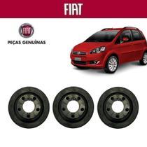 Coxim Filtro de Ar Idea 2011 Peça Genuína Kit com 3 - Fiat