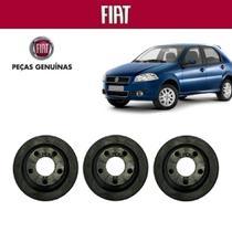Coxim Filtro de Ar Palio G4 ELX 2009 Original Fiat Kit com 3 -