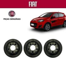 Coxim Filtro de Ar Palio G5 Essence 2016 Genuína Kit com 3 - Fiat