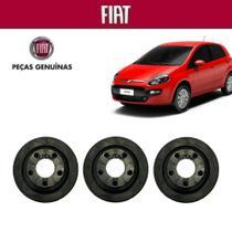 Coxim Filtro de Ar Punto T-Jet 2013 Original Fiat Kit com 3 -