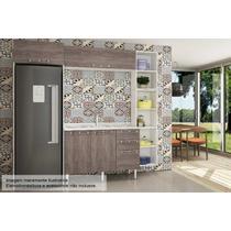 Cozinha Art In Mia Coccina 5 Pçs CZ50 s/Pia Bco/Rústico - A costa rica