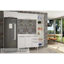 Cozinha Art In Mia Coccina 5 Pçs CZ50 s/Pia Branco - A costa rica