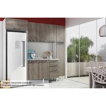 Cozinha Art In Mia Coccina 5 Pçs CZ51 s/Pia Bco/Rústico - A costa rica