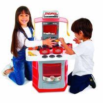 Cozinha Big Star 4.0 Infantil Completa Chef Menino E Menina -
