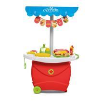 Cozinha Carrinho Infantil Food Truck Com Som Calesita -