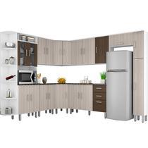 Cozinha Compacta 10 Peças Suíça - Poliman -