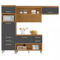 Cozinha Compacta 3 Peças com Paneleiro Princesa-Nesher Móveis -