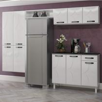 Cozinha Compacta 4 Peças 10 Portas Rubi Espresso Móveis - Telasul