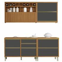 Cozinha Compacta 4 Peças Baronesa-Nesher Móveis -