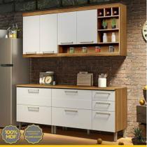 Cozinha Compacta 4 Peças em MDF Burguesa Nesher -