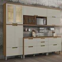 Cozinha Compacta 5 Peças em MDF com Nicho Duquesa Nesher -