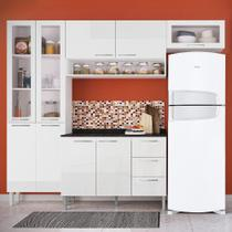 Cozinha Compacta 9 Portas Heloisa 0425t Branco - Genialflex moveis