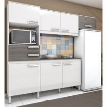 Cozinha Compacta Brizz B107 com 7 Portas 2 Gavetas - Henn