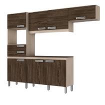 Cozinha Compacta Brizz B107 Com 7 Portas e 2 Gavetas - Henn -