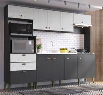 Cozinha Compacta com Armário e Balcão Arista Casamia -