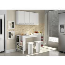 Cozinha compacta com mesa e bancos Decari 10 - Palmeira