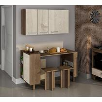 Cozinha compacta com mesa e bancos Decari 11