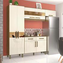 Cozinha Compacta Henn Briz B116 7 Peças 2 Gavetas com Balcão -