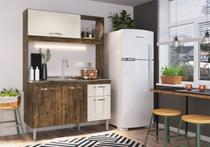 Cozinha Compacta IRM Katy 3 Portas e 1 Gaveta Itaúba -
